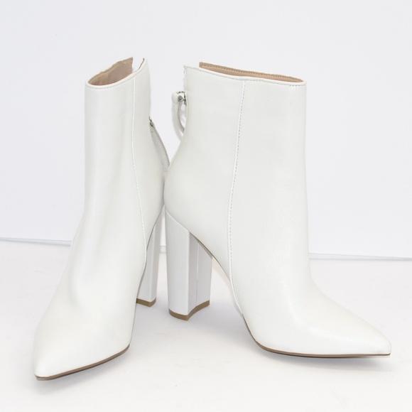 New Steve Madden Trista White Leather